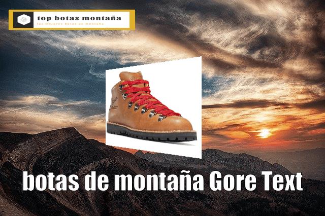 Botas de montaña Gore Text