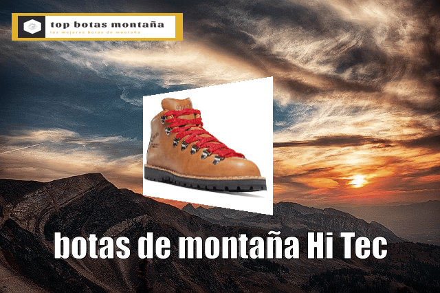 Botas de montaña Hi Tec