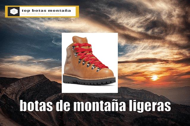 Botas de montaña ligeras