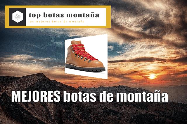 Mejores Botas de montaña