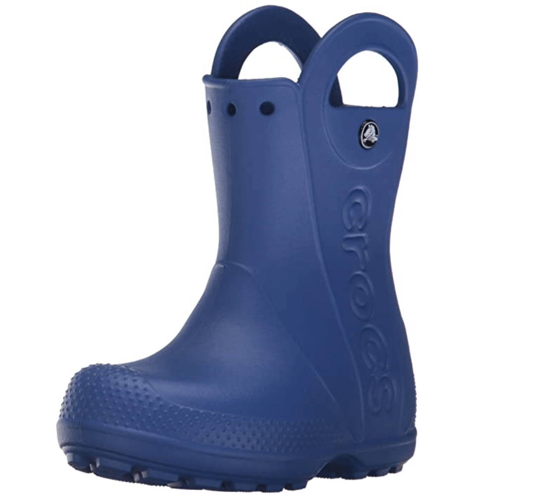 5. Crocs Handle It Rain Boot K, Botas de Agua Unisex niños