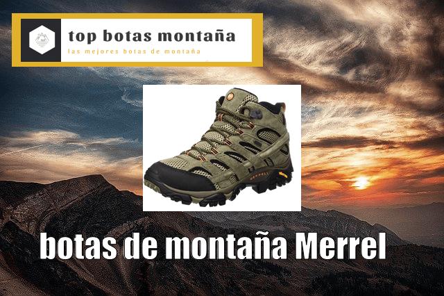 Mejores Botas de Montaña Merrel
