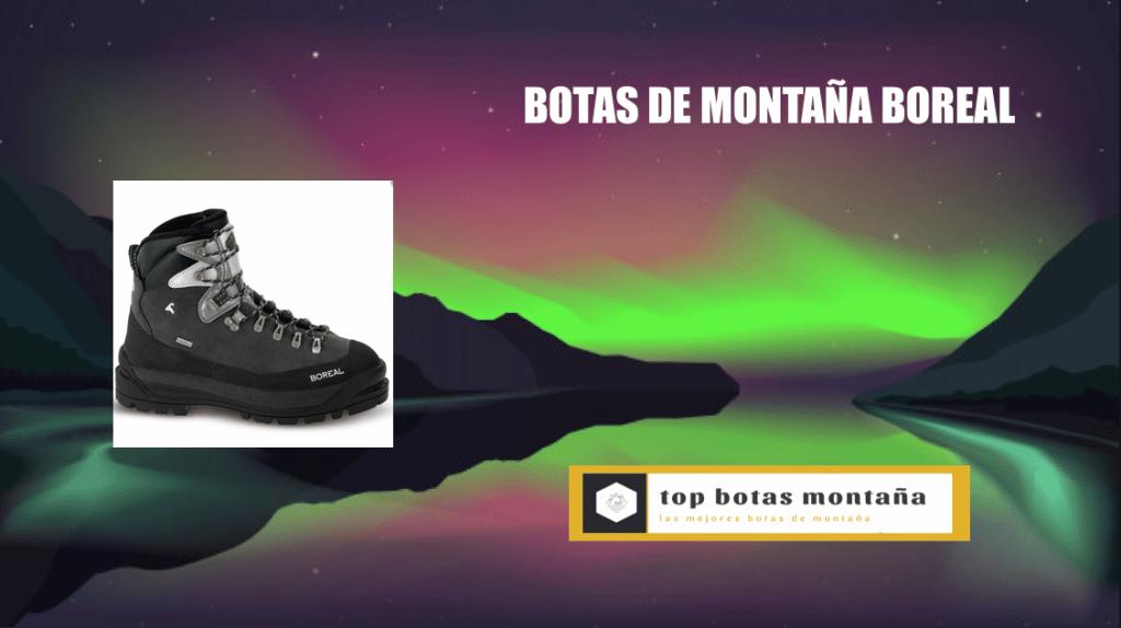 botas de montaña boreal